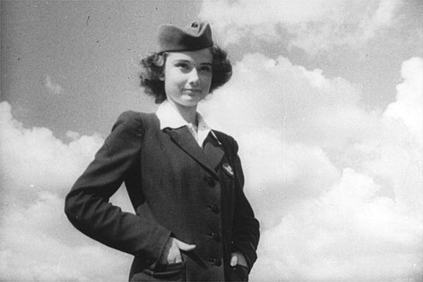 Audrey Hepburn in *Dutch in Seven Lessons* (1948)