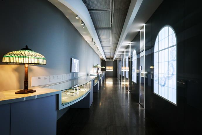 The Tiffany & Co. exhibition in Shanghai.