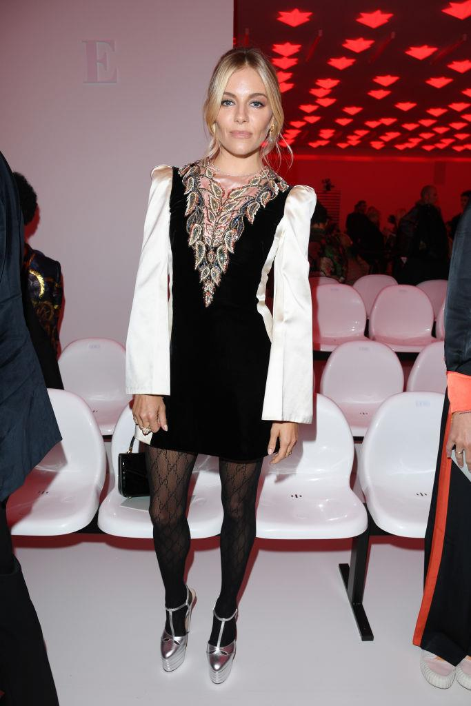 Sienna Miller at Gucci.