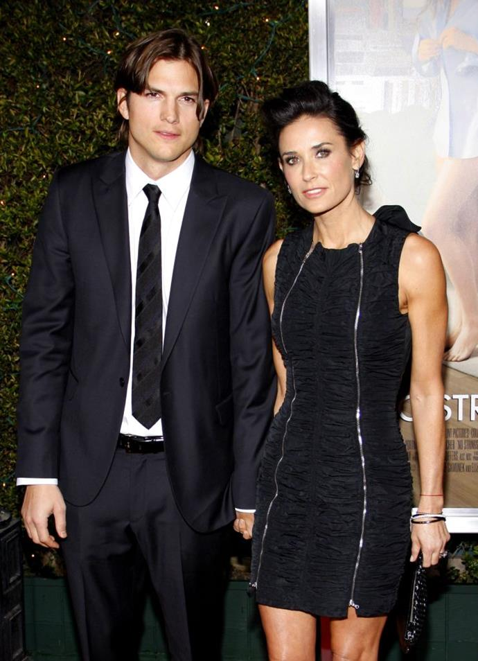 "**Ashton Kutcher, Sara Leal and Demi Moore** <br><br> Kutcher and Moore had been married for six years when administrative assistant Sara Leal alleged she had intimate reactions with Kutcher in an interview with *[Us Weekly](https://www.usmagazine.com/celebrity-news/news/sarah-leal-how-ashton-kutcher-seduced-me-20111110/|target=""_blank""