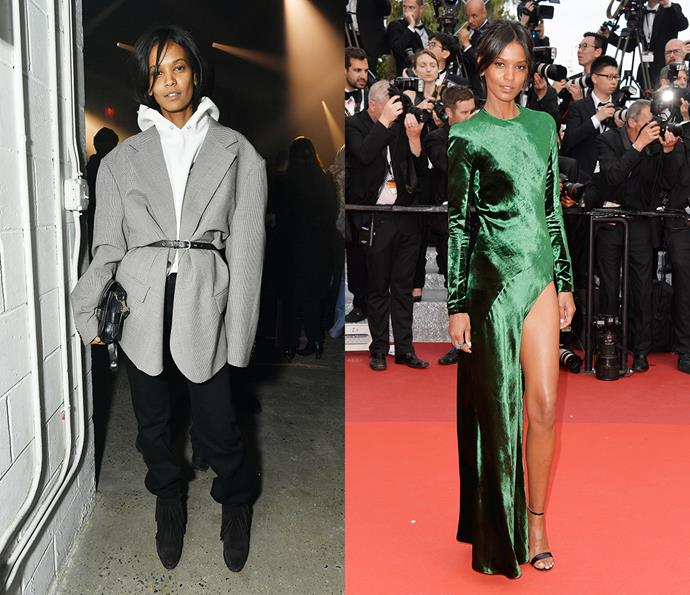 ***Liya Kebede***<br><br> Able to swing from cool-girl athleisure to red-carpet glam, Kebede always makes an impact.