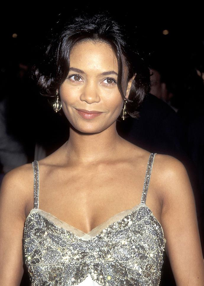 **Thandie Newton: 1994** <br><br> Another unconfirmed relationship was Pitt's reported fling with his *Interview With A Vampire* co-star, Thandie Newton in 1994.