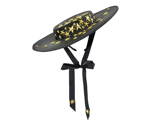 """Spangle Boater by Ford Millinery, $499.95 at [Myer](https://www.myer.com.au/p/ford-millinery-spangle-star-boater target=""""_blank"""" rel=""""nofollow"""")"""