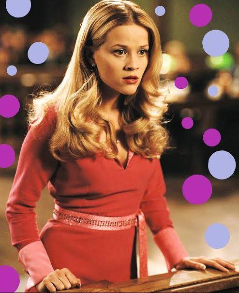 **Reese Witherspoon's courtroom curls in** ***Legally Blonde***<br><br>  After straightening her bouncy blonde locks into submission to look 'serious' at Harvard, the scene when Elle Woods (Reese Witherspoon) brought her curls to the courtroom was the triumphant moment we'd all been waiting for.