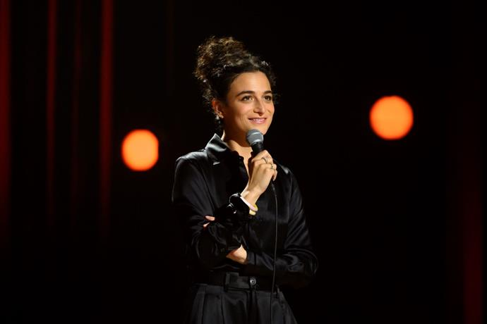 ***Jenny Slate: Stage Fright* (22/10/2019)** <br><br> Comedian and actress Jenny Slate's first Netflix original comedy special *Stage Fright* gives the audience an inside look at the comedian's world. Interspersed within her hilarious stand-up set, Jenny shares personal clips of her childhood and interviews with her family in an intimate look at her life.