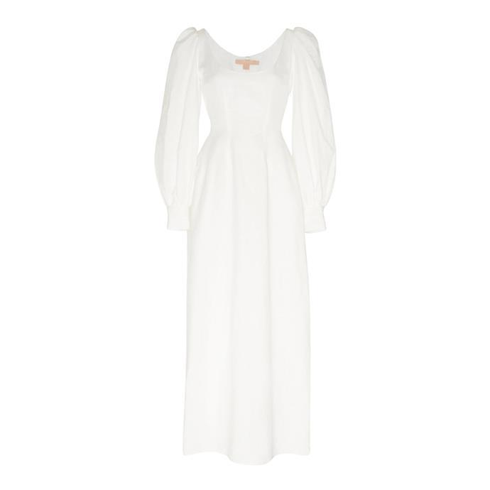 "***The midi dress***<br><br> Dress by Brock Collection, $1,440 at [Moda Operandi.](https://www.modaoperandi.com/brock-ss20/bishop-sleeved-cotton-blend-maxi-dress|target=""_blank""|rel=""nofollow"")"