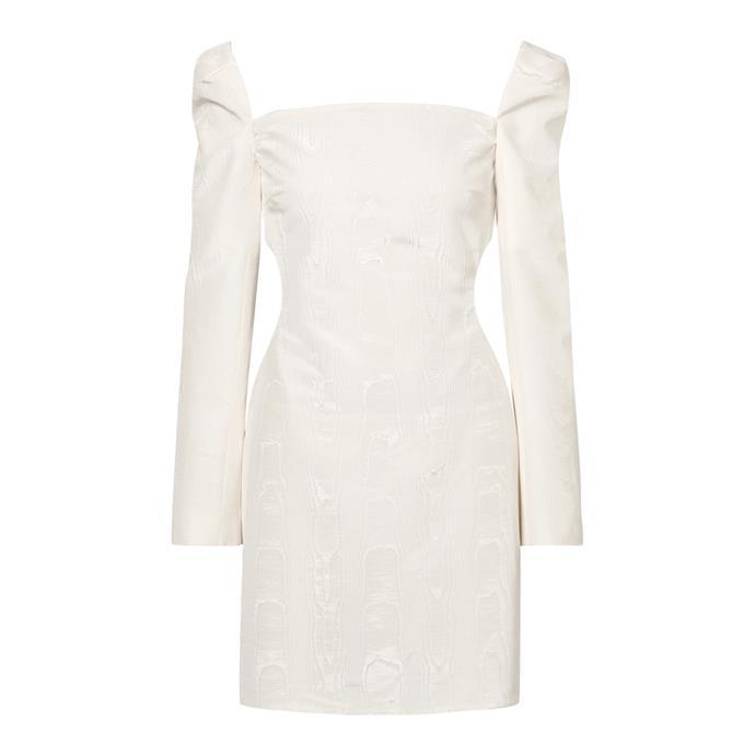 "***The short dress***<br><br> Dress by Ellery, $2,627 at [NET-A-PORTER](https://www.net-a-porter.com/au/en/product/1088552/ellery/pallen-cotton-blend-moire-mini-dress|target=""_blank""|rel=""nofollow"")."