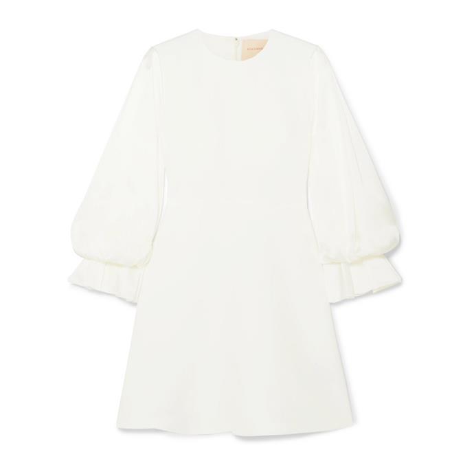 "***The short dress***<br><br> Dress by Roksanda, $1,714 at [NET-A-PORTER](https://www.net-a-porter.com/au/en/product/1153690/roksanda/leonie-cady-and-satin-mini-dress|target=""_blank""|rel=""nofollow"")."
