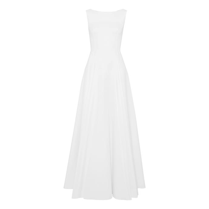 "***The simple dress***<br><br> Gown by Alaïa, $4,049 at [NET-A-PORTER](https://www.net-a-porter.com/au/en/product/1110322/alaia/cotton-gabardine-maxi-dress|target=""_blank""|rel=""nofollow"")."