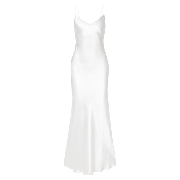"***The slip dress***<br><br> Dress by Rasario, $1,161 at [NET-A-PORTER](https://www.net-a-porter.com/au/en/product/1138888/rasario/silk-satin-gown|target=""_blank""|rel=""nofollow"")."