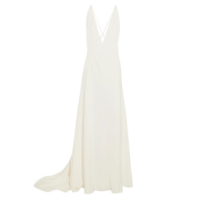 "***The slip dress***<br><br> Gown by Michael Lo Sordo, $2,486 at [NET-A-PORTER](https://www.net-a-porter.com/au/en/product/869075/michael_lo_sordo/alexandra-silk-crepe-de-chine-gow...|target=""_blank""|rel=""nofollow"")."