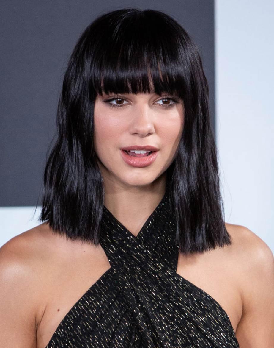 model rambut terbaru 2020 ala Dua Lipa