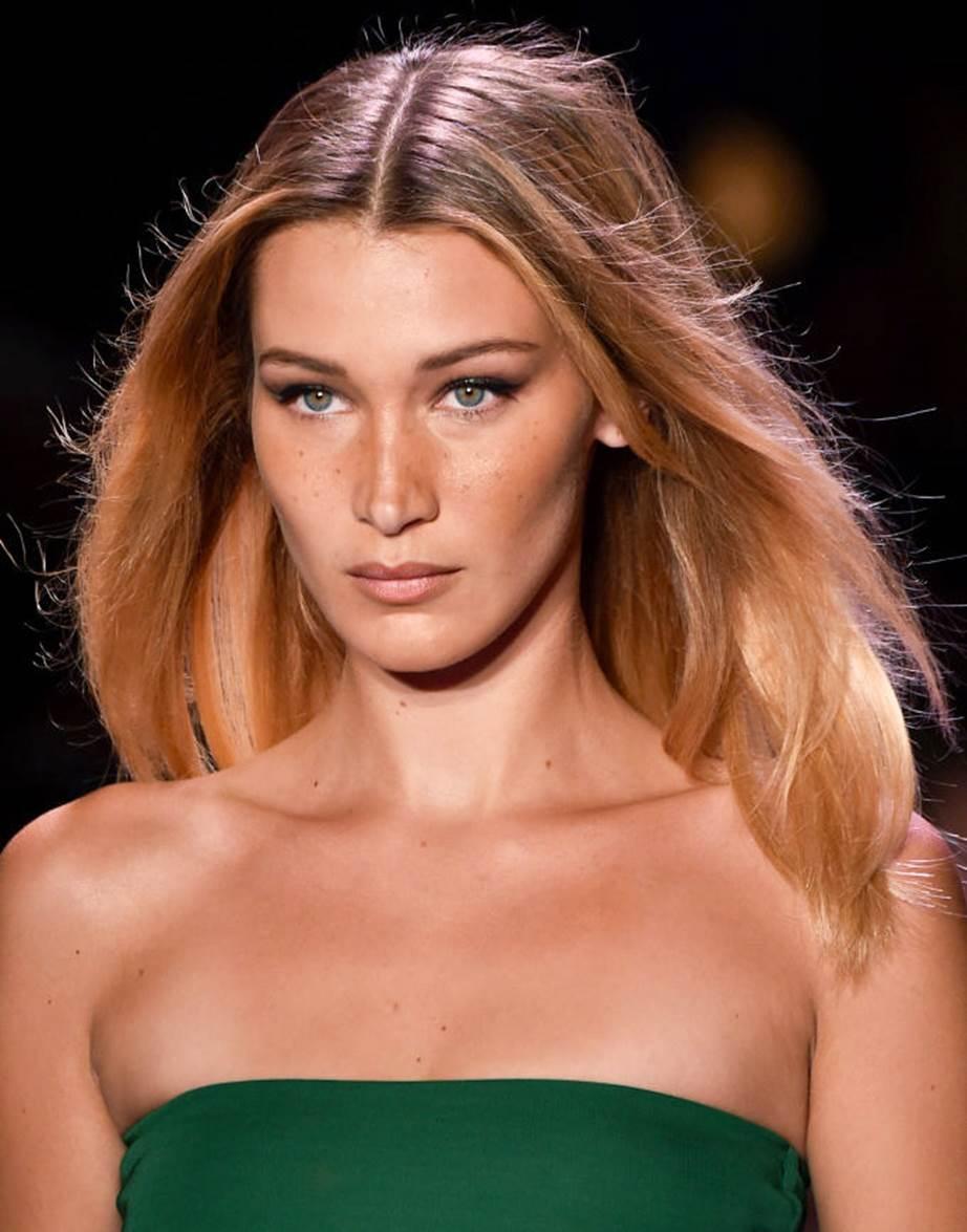 Model rambut terbaru wanita untuk pipi tirus