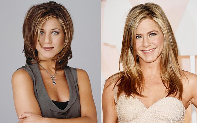 "**Jennifer Aniston** <br><br> Although it sparked thousands of copycats, Aniston has confessed to hating her iconic 'Rachel' haircut from her *Friends* days. ""I love Chris [McMillan, her hairstylist], and he's the bane of my existence at the same time because he started that damn Rachel, which was not my best look. How do I say this? I think it was the ugliest haircut I've ever seen,"" she told *Allure* in 2011."