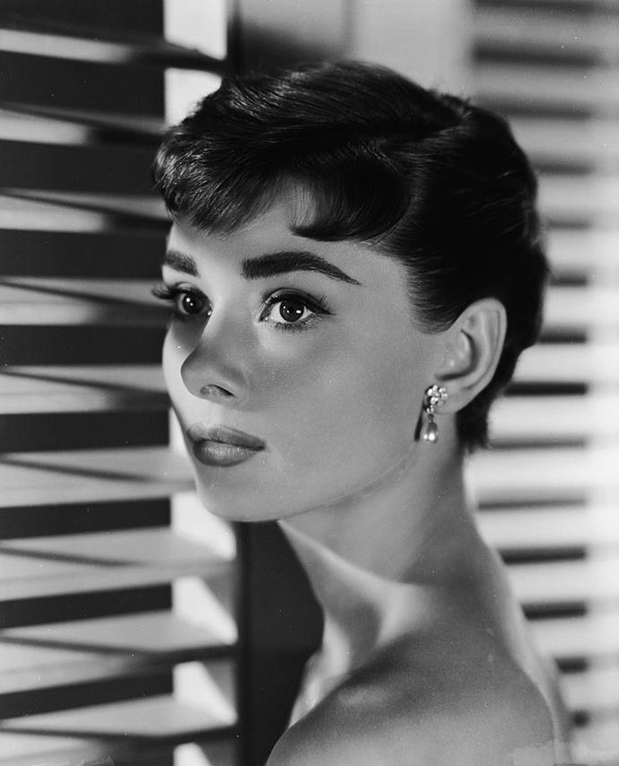 **Audrey Hepburn's pixie cut in** ***Sabrina***<br><br>  Sabrina's (Audrey Hepburn's) fashionable Parisian pixie cut makeover was more than just a moment, it was a symbol of her coming into her own and discovering her identity.