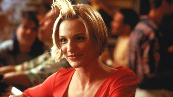 **Cameron Diaz's 'hair gel' moment in** ***There's Something About Mary***<br><br>  Let's just say, no one could quite look at gel the same way after Cameron Diaz's unforgettable hair moment in *There's Something About Mary*.
