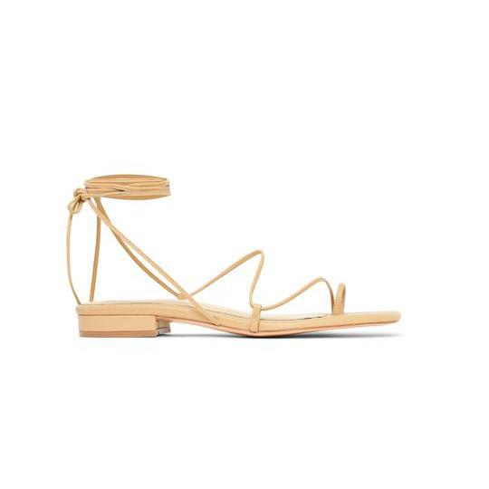 "'1.1' sandal by Studio Amelia, $350 from [Studio Amelia](https://studioamelia.co/collections/studio-amelia-sandals/products/1-1-nude|target=""_blank""