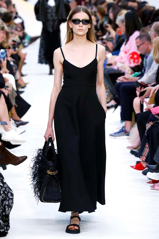 "***Valentino***<br><br> ""I can't get this dress out of my mind. The perfect black dress."" Caroline Tran, fashion editor."