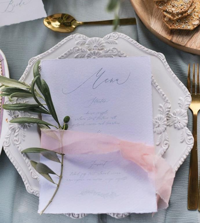 "**To print or not to print?**<br><br>  When it comes to invitations and menus, the real question is: to print or not to print?<br><br>  As far as invitations go, it's worth considering the scale of your party first. If you are doing a co-paid-for group affair where everyone is chipping in, you don't need to go all out with a printed invitation.<br><br>  Having noted that, there is something to be said about the power of a printed invitation and its physical quality. It arguably makes an occasion feel much more real, and therefore more likely that people will take it seriously and not cancel last minute.<br><br>  So, while it's more of an option for a casual dinner party, it's certainly worth doing for a big, formal affair that you are throwing by yourself.<br><br>  Regardless of the size of the affair however, it's always nice to have a printed menu to bring a chic restaurant touch to your intimate event.<br><br>  *Image via [@giantinvitations](https://www.instagram.com/giantinvitations/|target=""_blank""