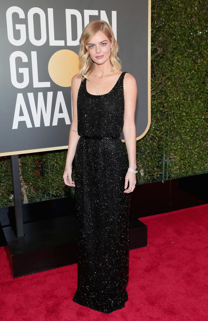 The Golden Globes look that made Nicolas Ghesquière do a double-take.