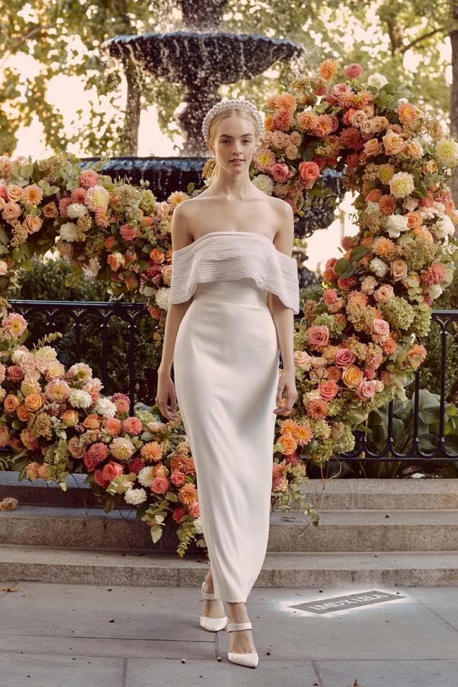 Lela Rose autumn/winter '20.