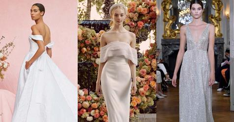 The Dreamiest Gowns From Bridal Fashion Week Autumn/Winter '20 | Harper's BAZAAR Australia