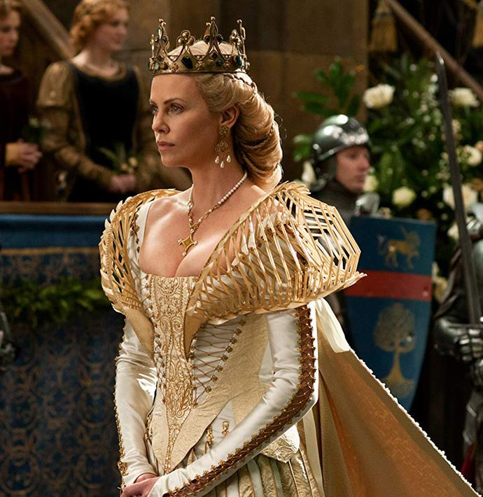 Charlize Theron as Ravenna in *Snow White and the Huntsman*.<br><br>  *Image via IMDb*