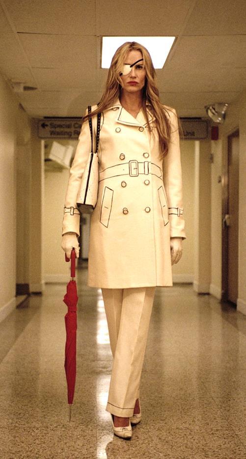 Daryl Hannah as Elle Driver in *Kill Bill: Vol 1*.<br><br>  *Image via IMDb*