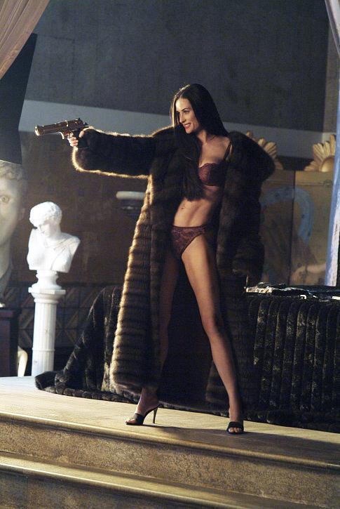 Demi Moore as Madison Lee in *Charlie's Angels: Full Throttle*.<br><br>  *Image via IMDb*