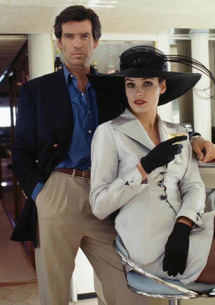 Famke Janssen as Xenia Onatopp in *GoldenEye*.<br><br>