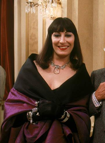 Anjelica Huston as the Grand High Witch in *The Witches*.<br><br>  *Image via IMDb*
