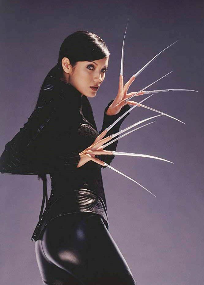 Kelly Hu as Lady Deathstrike in *X-Men 2*.<br><br>  *Image via IMDb*