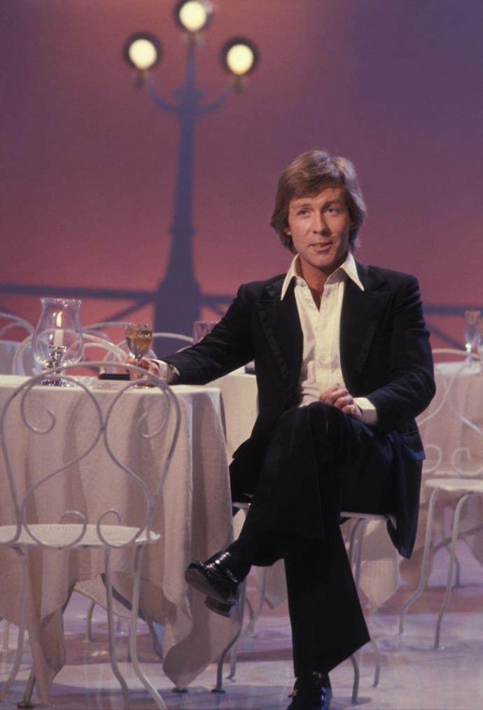 Llewellyn during a French TV appearance in 1978.
