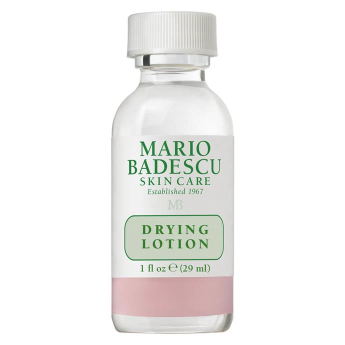 """***Drying Lotion by Mario Badescu, $26 from [MECCA](https://www.mecca.com.au/mario-badescu/drying-lotion/I-004684.html