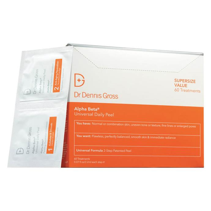 """***Alpha Beta Universal Daily Peel by Dr. Dennis Gross, $229 from [MECCA](https://www.mecca.com.au/dr-dennis-gross/alpha-beta-extra-strength-daily-peel/V-017009.html