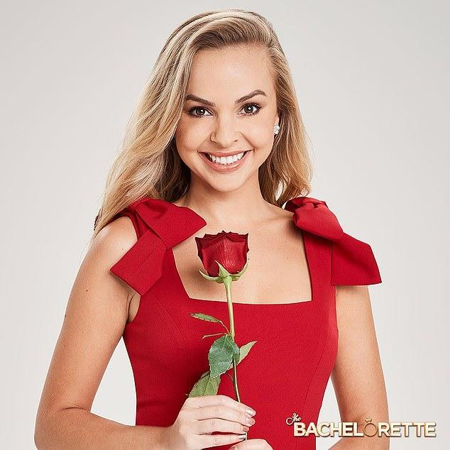 "Angie wears a soft pink 'Lea' dress by Bec & Bridge, $232 at [ASOS](https://www.asos.com/au/bec-bridge/bec-bridge-exclusive-lea-split-midi-dress/prd/12550730|target=""_blank""|rel=""nofollow""), in the show's promotional photos."
