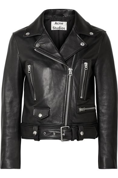 "***A good leather jacket***<br><br>  Leather biker jacket by Acne Studios, $2,200 from [NET-A-PORTER](https://www.net-a-porter.com/au/en/product/1067413/Acne_Studios/leather-biker-jacket|target=""_blank""