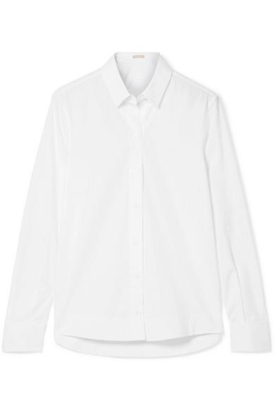 "***A white button down shirt***<br><br>  Cotton-poplin Shirt by ALAÏA, $1,210 from [NET-A-PORTER](https://www.net-a-porter.com/au/en/product/1070977/Alaia/cotton-poplin-shirt|target=""_blank""