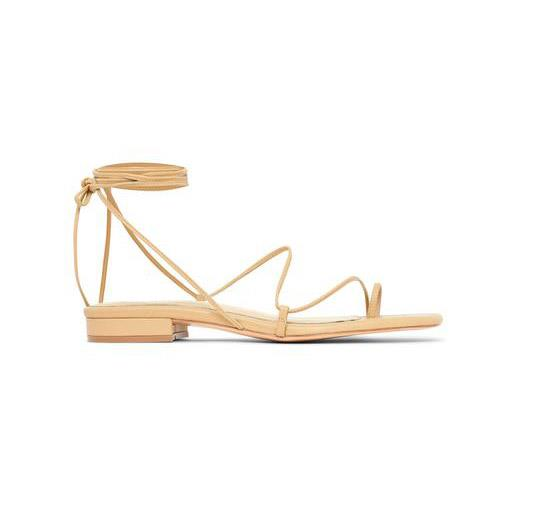 "***A pair of simple leather sandals***<br><br>  1.1 sandals by Studio Amelia, $350 from [Studio Amelia](https://studioamelia.co/collections/studio-amelia-sandals/products/1-1-nude|target=""_blank""