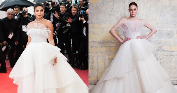 Celebrities Wearing Wedding Dresses On The Red Carpet | Harper's BAZAAR Australia