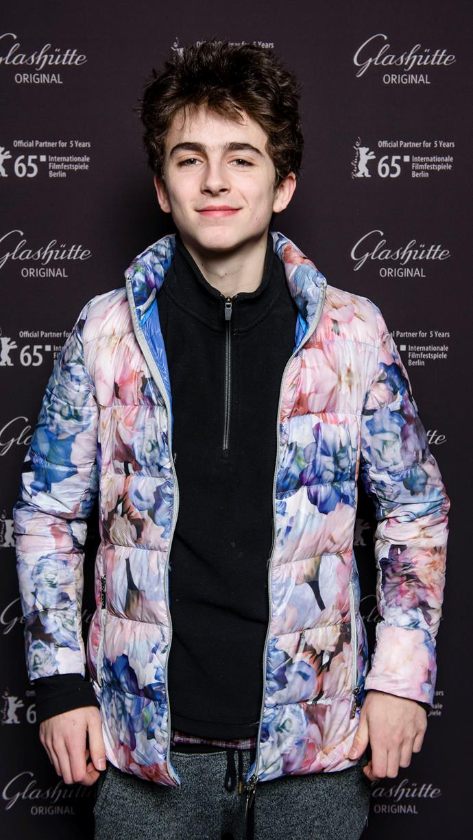 At the 65th Berlinale International Film Festival on February 10, 2015. Forgive him, he knows not what he's wearing.