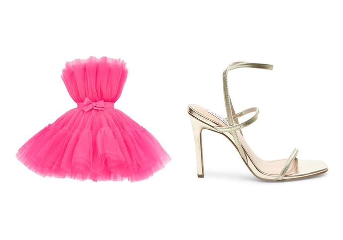 """***Channel the look:*** <br><br> Giambattista Valli x H&M dress, $944, available on [eBay](https://www.ebay.com.au/itm/Giambattista-Valli-H-M-HM-Flared-Tulle-Dress-Neon-Pink-UK-14-US-10-EU-42/123793140756?hash=item1cd2a56c14:m:mFjQBRLNYF73RqB8jt5kLmA