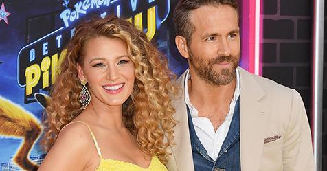 Blake Lively And Ryan Reynolds Share The First Photo Of Their Third Baby | Harper's BAZAAR Australia