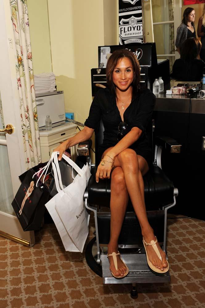 At a gifting lounge in 2009.