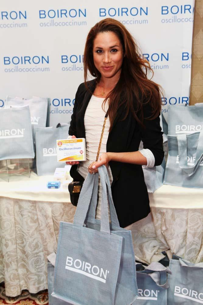 At a gifting lounge in 2012.