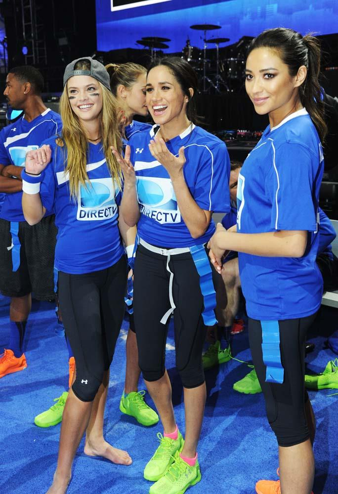At the DirecTV Beach Bowl in 2014.