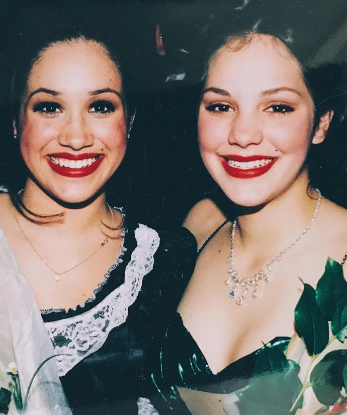 From her high-school days with Katharine McPhee.