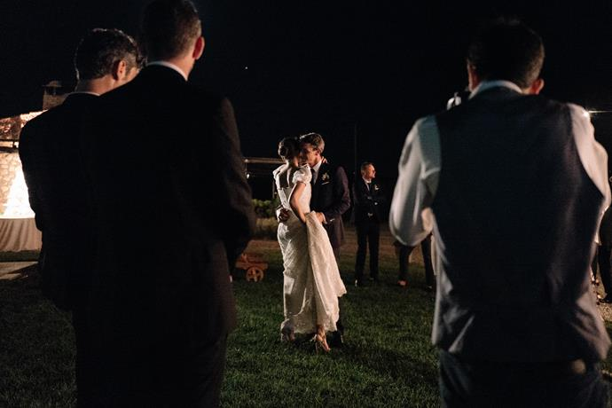 "**On the first dance:** The first dance couldn't be other than ""Perfect"" by by Ed Sheeran and Andrea Bocelli."