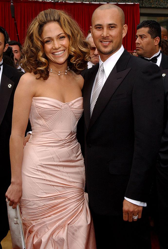 **Jennifer Lopez and Cris Judd** <br><br> Before dating Affleck, Lopez dated Cris Judd, a backup dancer she met while filming the music video for her 2000 song 'Love Don't Cost a Thing'. The couple wed in September 2001, before ending their marriage less than a year later.