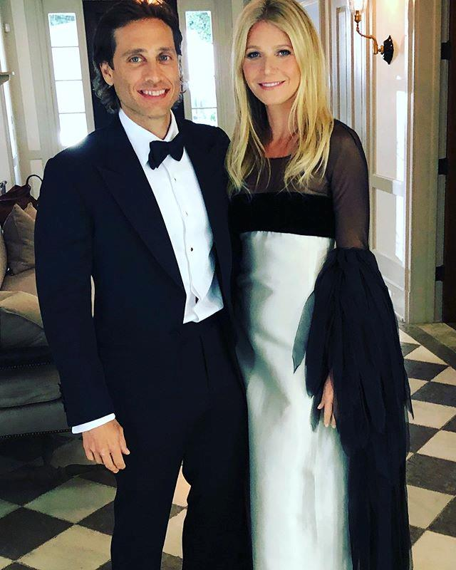 **Gwyneth Paltrow and Brad Falchuk** <br><br> Paltrow met producer Brad Falchuk when she cameo-ed on TV series *Glee* in 2010. The couple eventually married in a lavish Hamptons ceremony in late 2018.